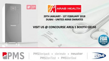 Visit Us at Arab Health 2018
